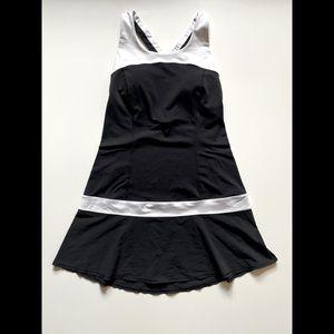 Lululemon Hot Hitter Black & White Dress